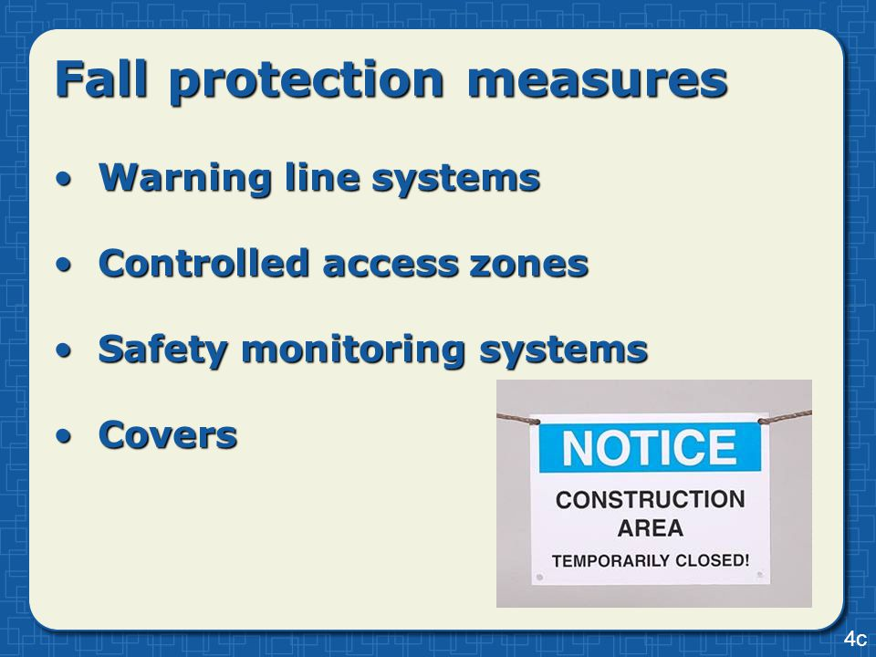 Warning line systemsWarning line systems Controlled access zonesControlled access zones Safety monitoring systemsSafety monitoring systems CoversCover