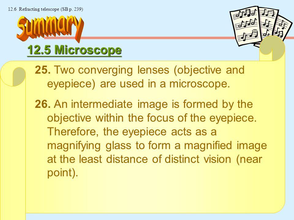 23 © Manhattan Press (H.K.) Ltd. 12.6 Refracting telescope (SB p.