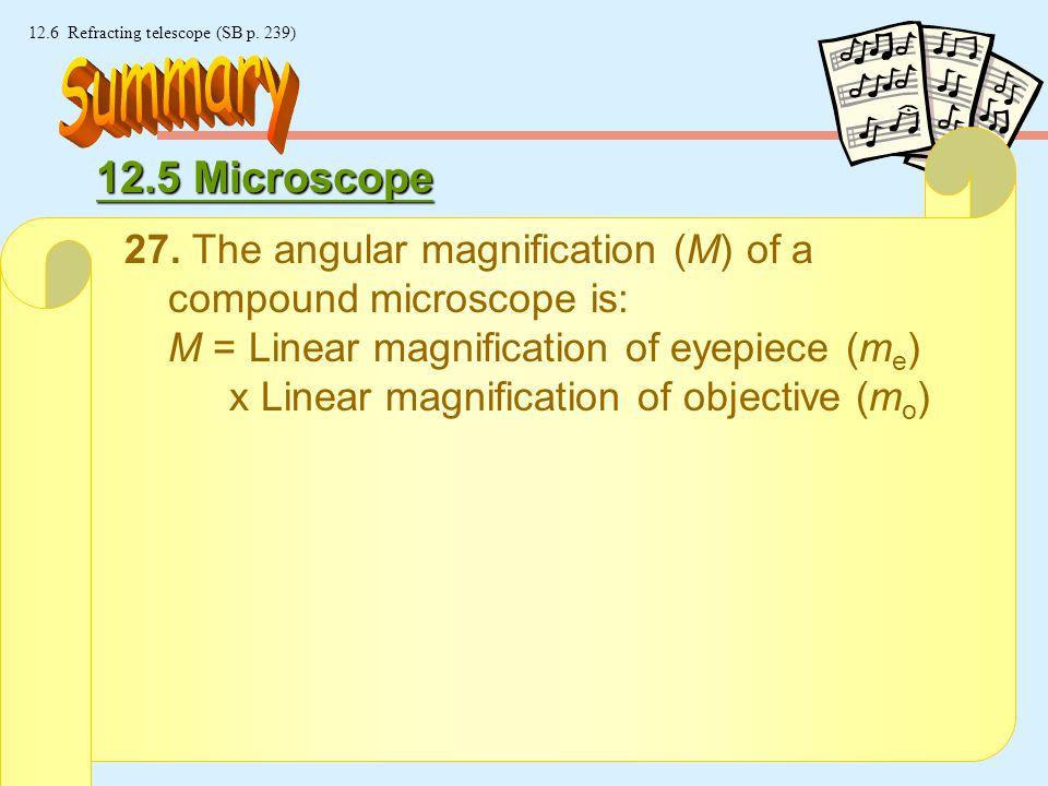 24 © Manhattan Press (H.K.) Ltd. 12.6 Refracting telescope (SB p.