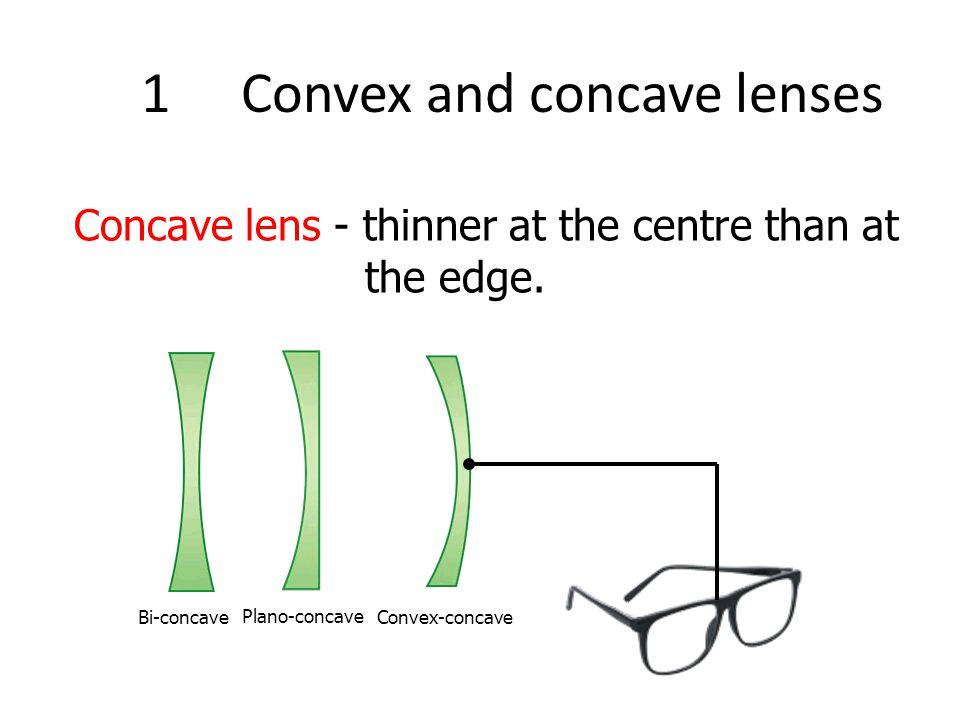 1Convex and concave lenses convex lens (converging lens) concave lens (diverging lens) Converging or Diverging?