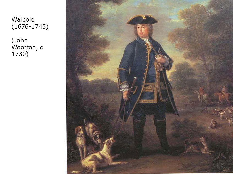 Walpole (1676-1745) (John Wootton, c. 1730)