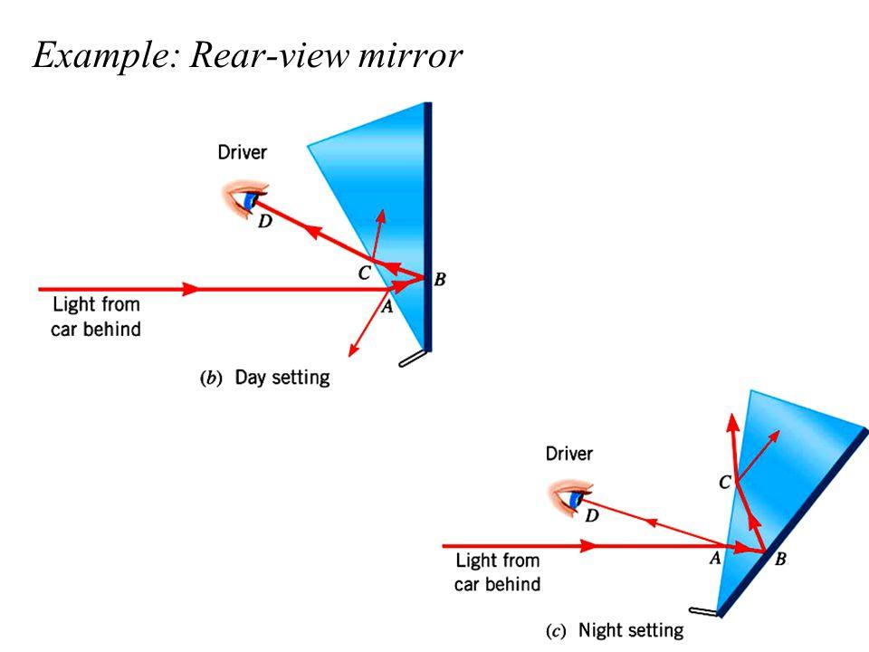 Example: Rear-view mirror