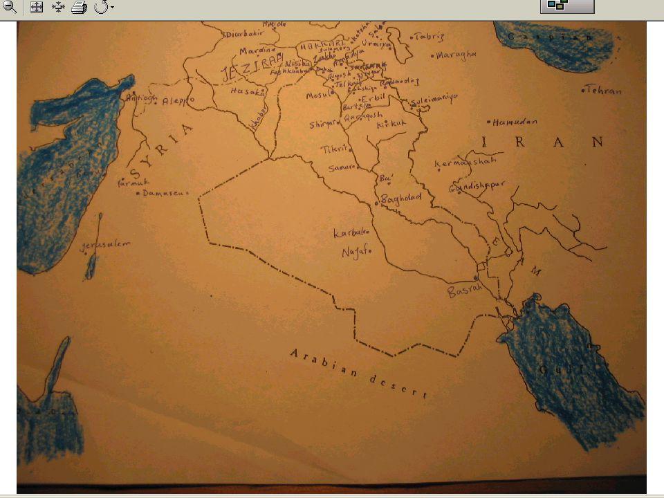 The Matrix Mesopotamia under Persians /Zoroastrian The Rest of ME under the Romans/Pagans.