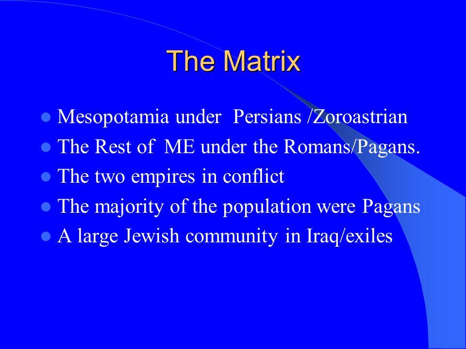 Evangelisation Tradition: Thadaeus &Thomas/Aggai&Mari Travel:Trade & pilgrimage Jews from Mesopotamia (Acts 2:5-10) Gradual infiltration amongst Jews, Pagans and Zoroastrians