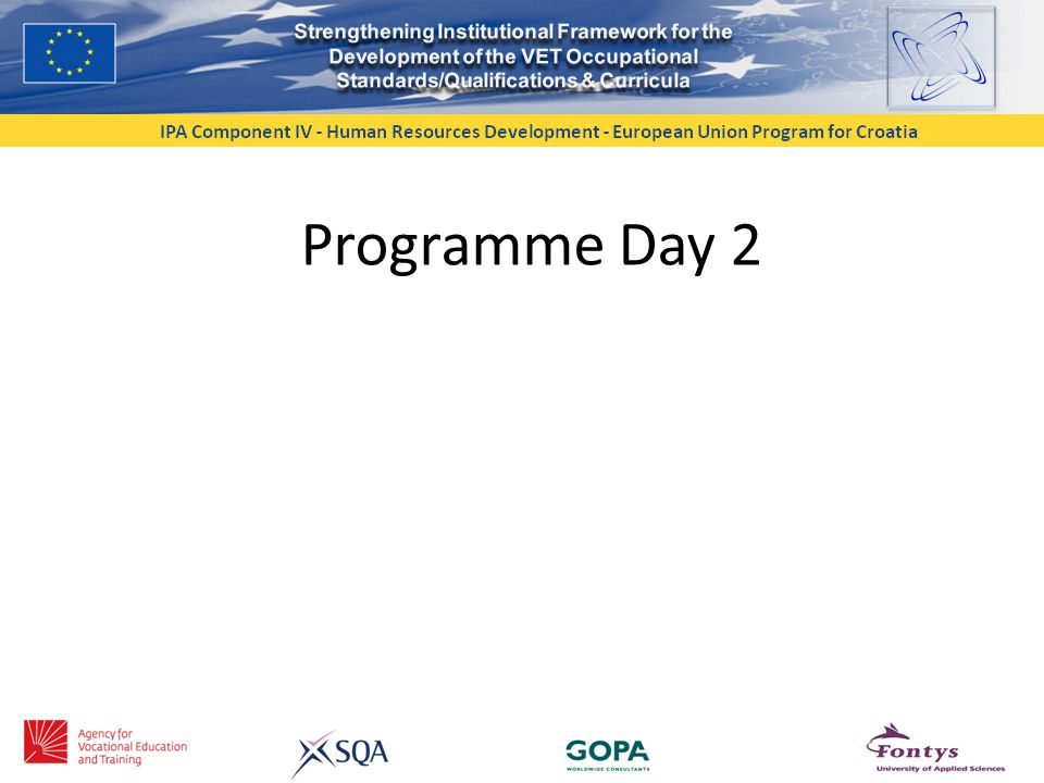 Programme Day 2