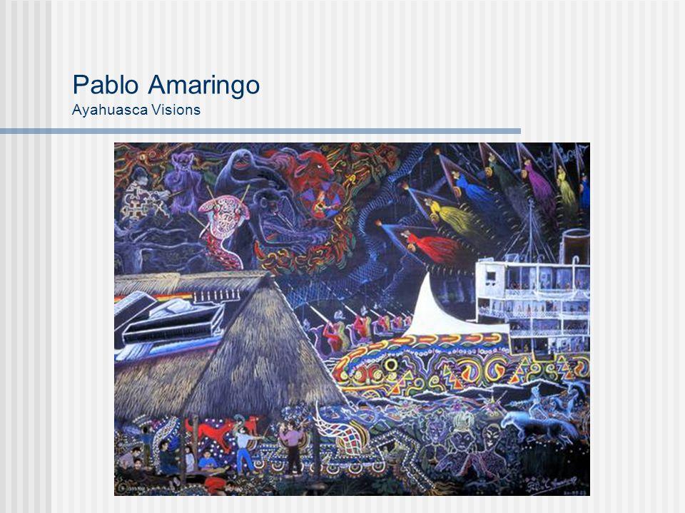 Pablo Amaringo Ayahuasca Visions