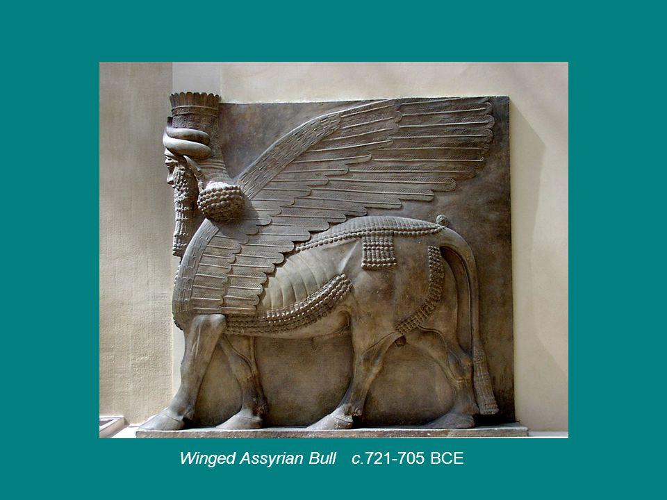 Winged Assyrian Bullc.721-705 BCE
