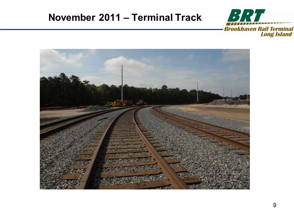 9 November 2011 – Terminal Track