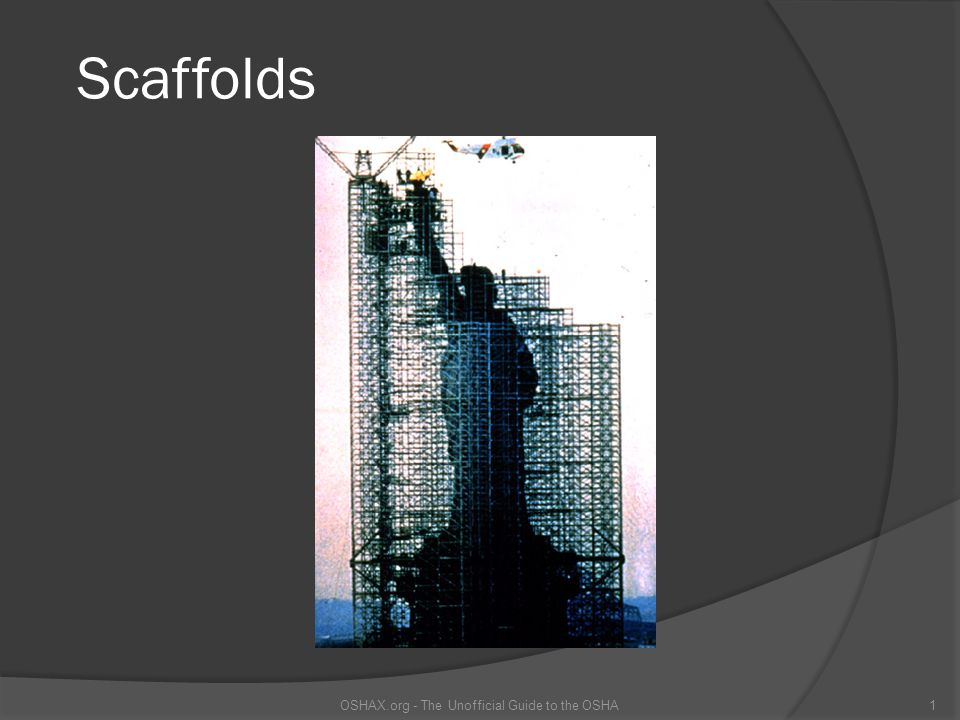 What Is A Scaffold.