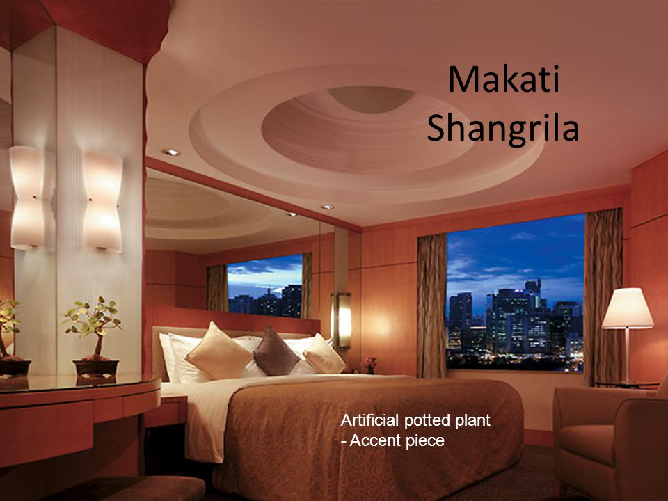 Makati Shangrila Artificial potted plant - Accent piece