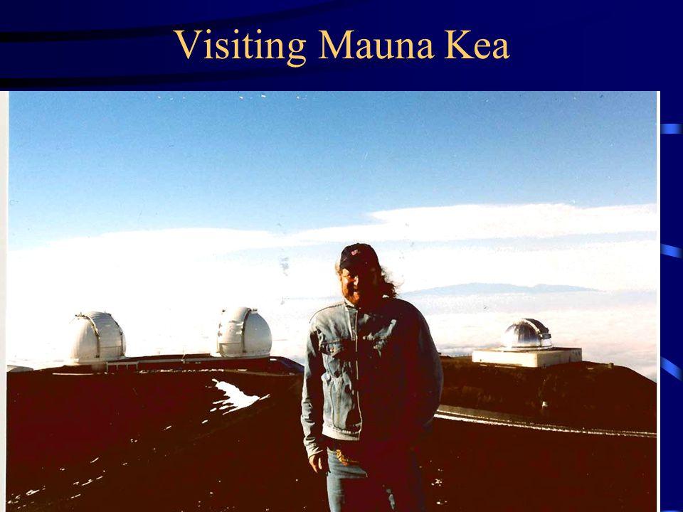 Visiting Mauna Kea