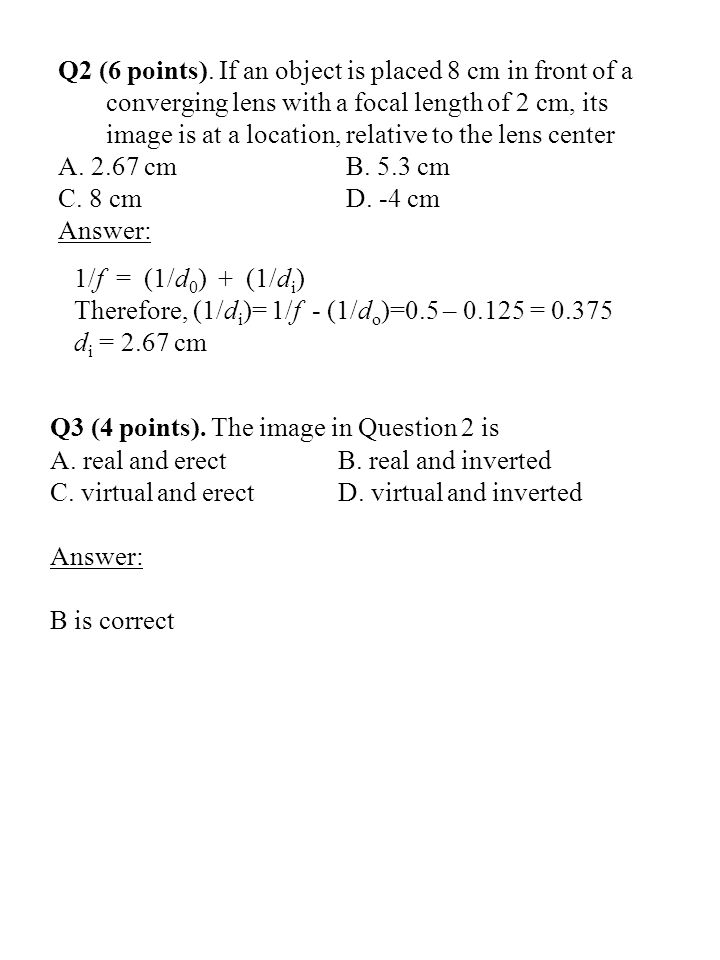 Q2 (6 points).