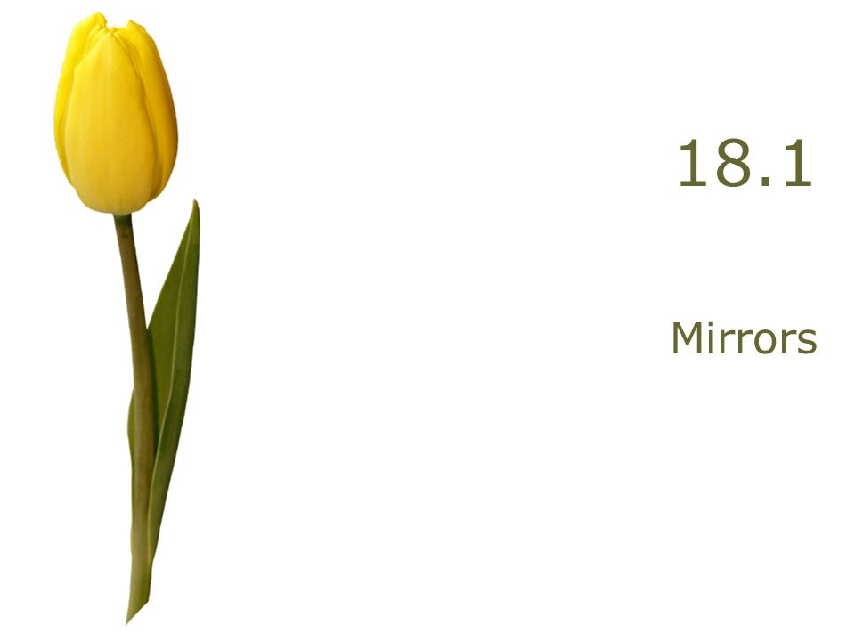 Early Work – Apr. 9 Draw the image formed by an object and a convex mirror. Describe the image (3).