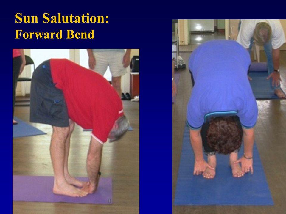 Sun Salutation: Forward Bend