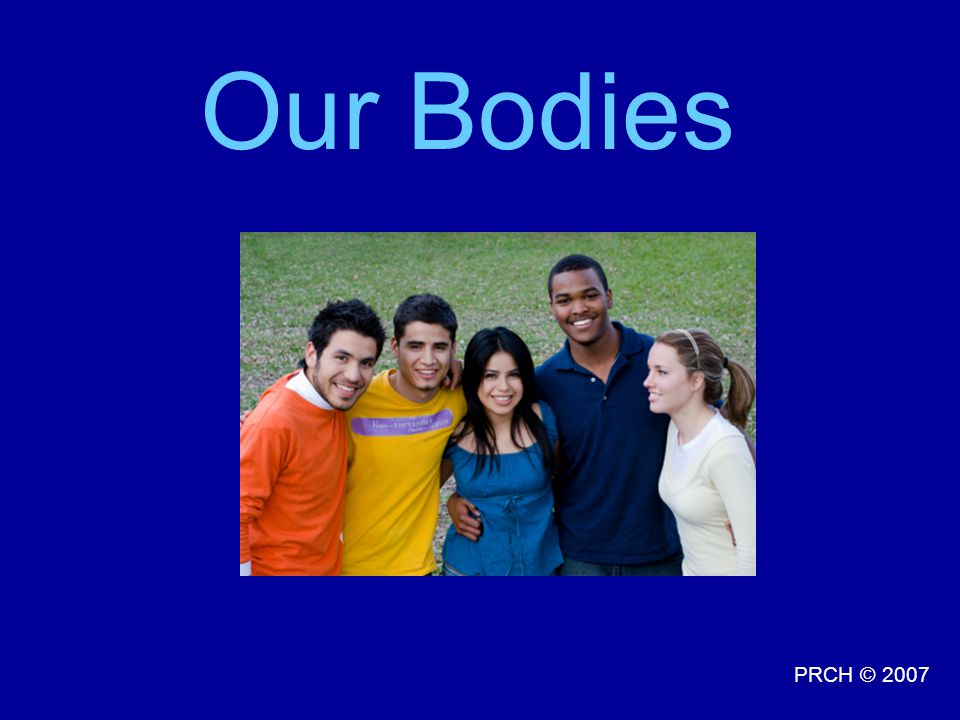 PRCH © 2007 Our Bodies