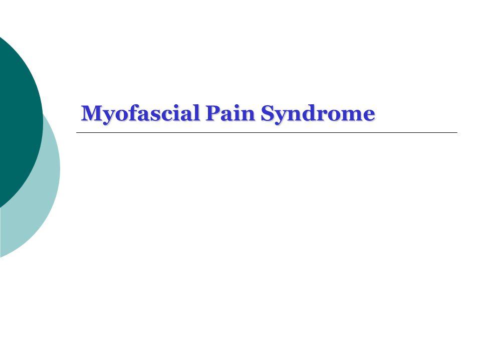 10 ?Myofascial trigger points (MTrPs).