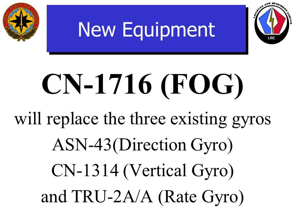 LRC New Equipment CN-1716/A Fiber Optic Gyro System (FOGS) Attitude Heading Reference Unit (AHRU)