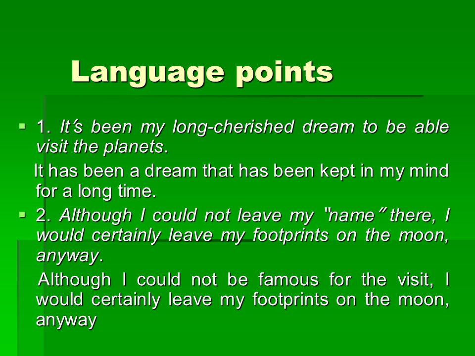 Language points Language points  1.