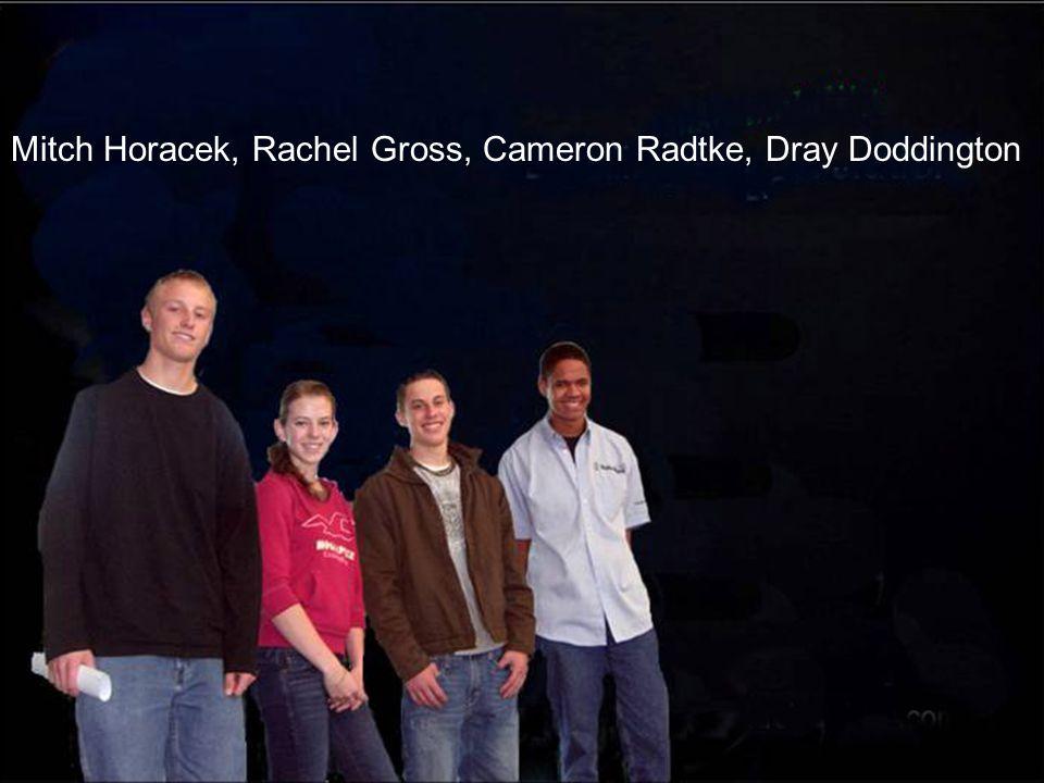 Mitch Horacek, Rachel Gross, Cameron Radtke, Dray Doddington