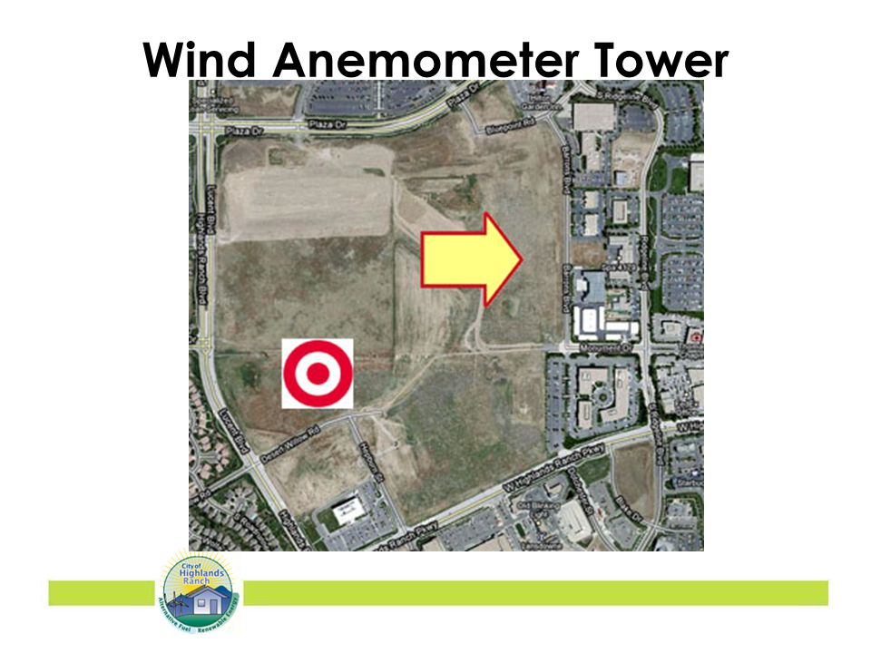Wind Anemometer Tower Location