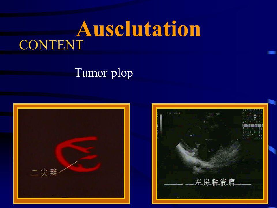 65 Ausclutation CONTENT Tumor plop