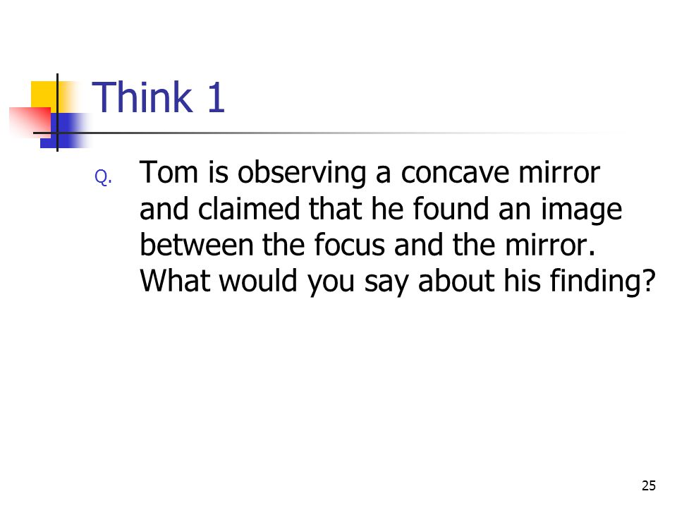 25 Think 1 Q.