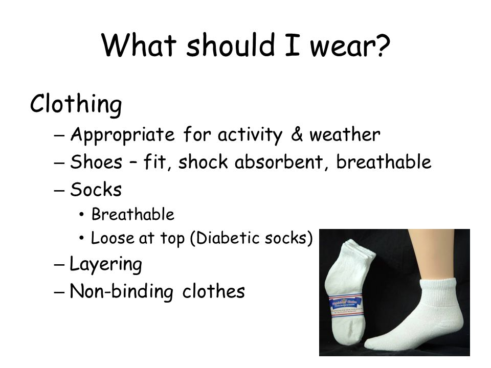 What should I wear.