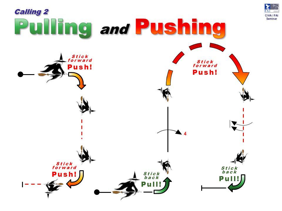 CIVA / FAI Seminar CIVA / FAI Seminar Stick back Pull.
