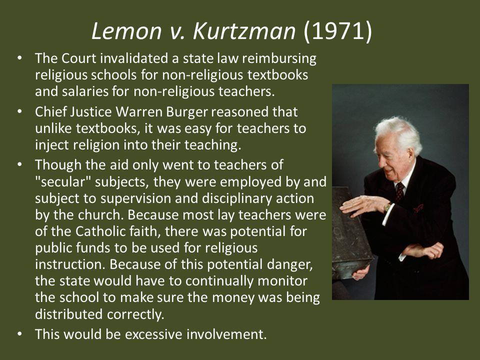 Lemon v.