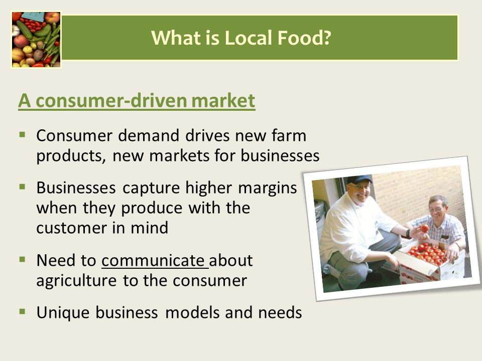 What is Local Food.