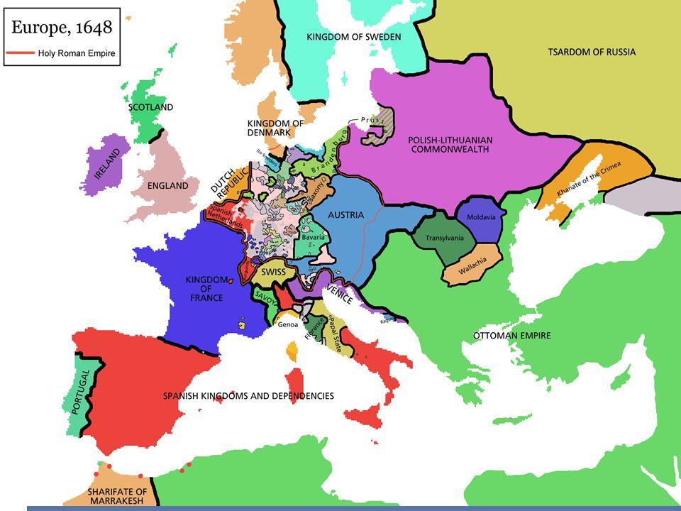 European Kingdoms of 1750s