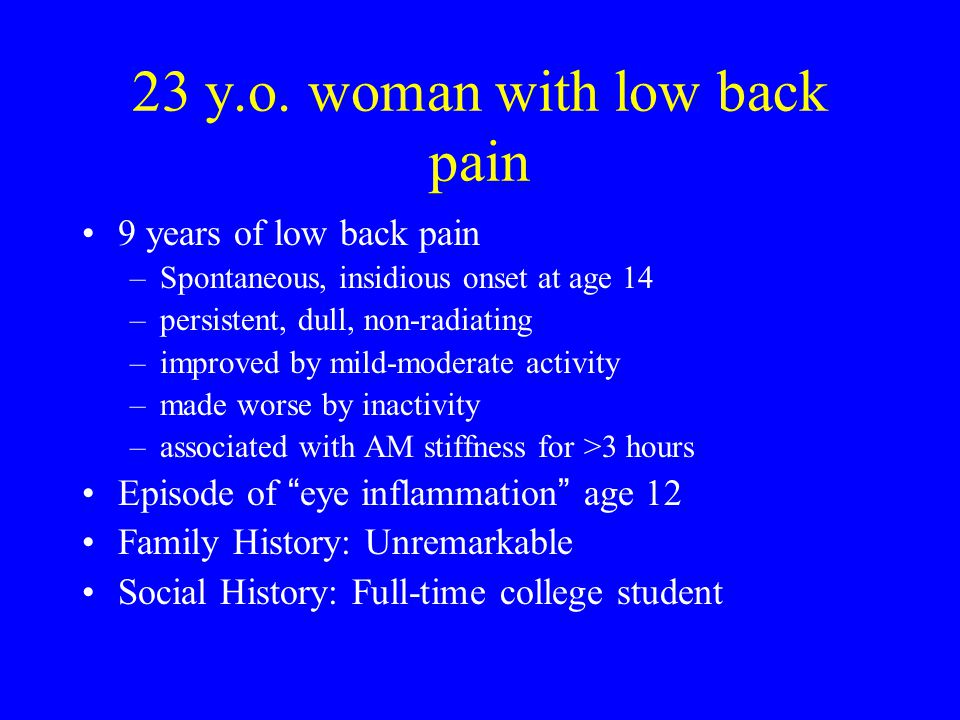 HLA-B27 and spondyloarthropathies HLA-B27 in Caucasian populations in US –normal controls 8% –ankylosing spondylitis90% –reactive arthritis with spondylitis 60-80% –psoriatic with spondylitis50% –IBD with spondylitis50%