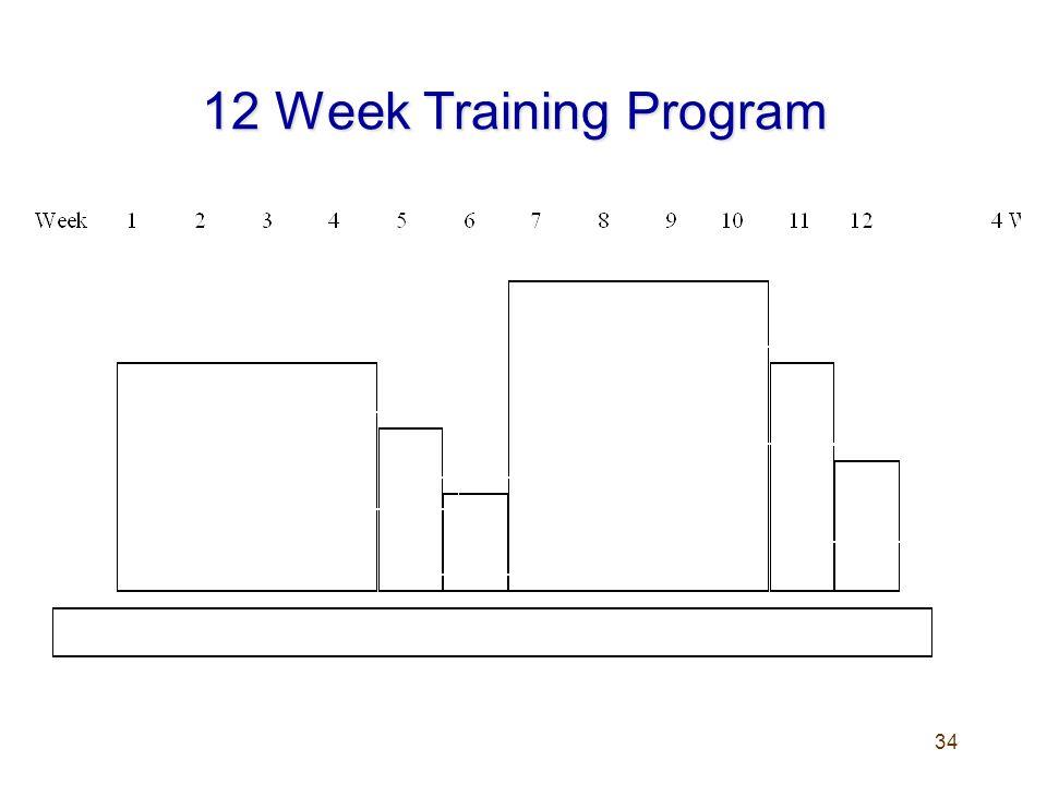 34 12 Week Training Program