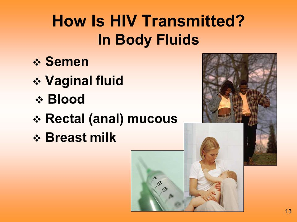 13 How Is HIV Transmitted.