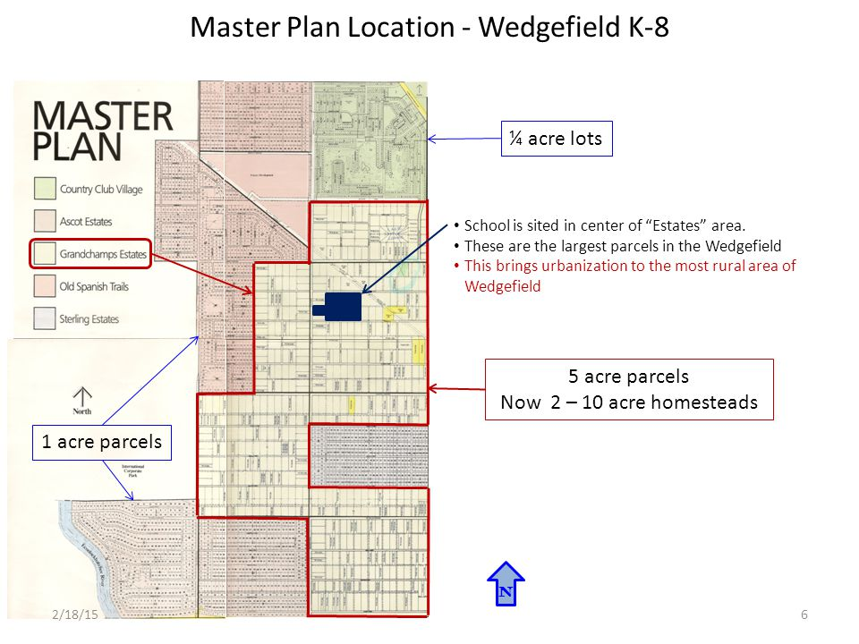 Future Land Use Atlas – Proposed Alternate K-8 Site N 1 Mile Radius Site Improvements Meets many Comprehensive Plan Public School Policies: PS2.1.1: Encourage the locations of parks, recreation and community facilities in new and existing communities in conjunction with school sites.