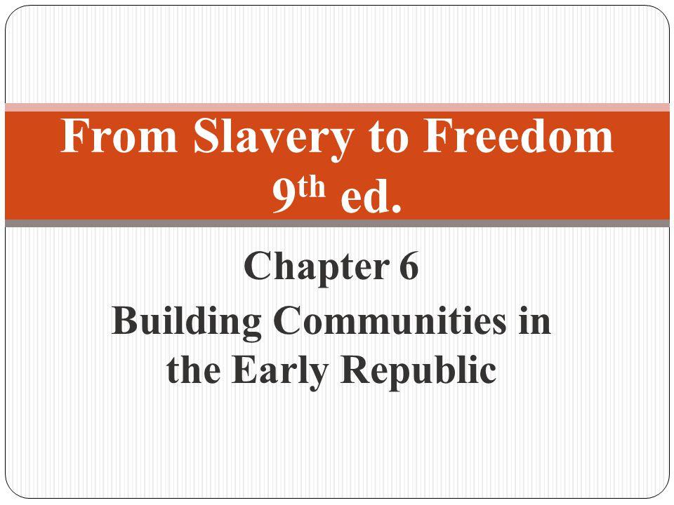 Black Colonization Colonization Efforts Black settlement outside U.S.