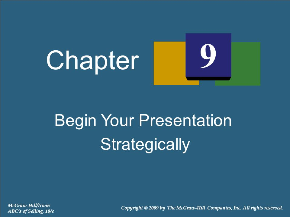 9-22 Objectives of Both Statement and Demonstration Approach Techniques Capture the attention of prospect Stimulate prospect's interest To provide a transition into the sales presentation