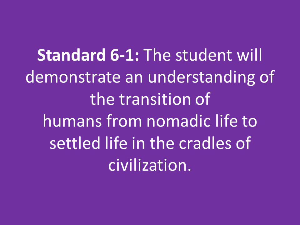 What are the 5 characteristics of a civilization?