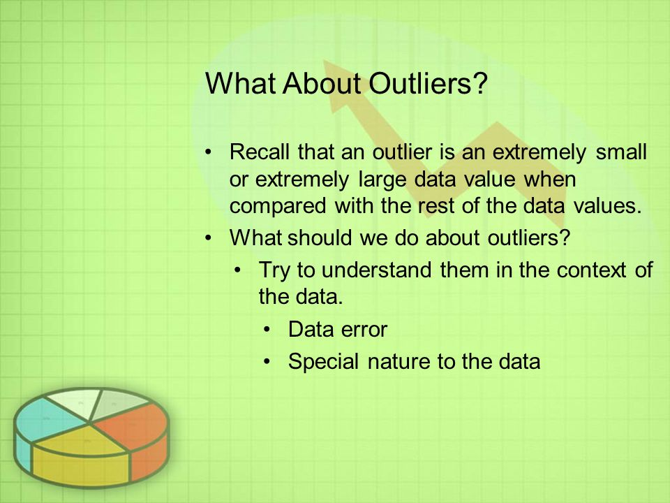 What About Outliers.