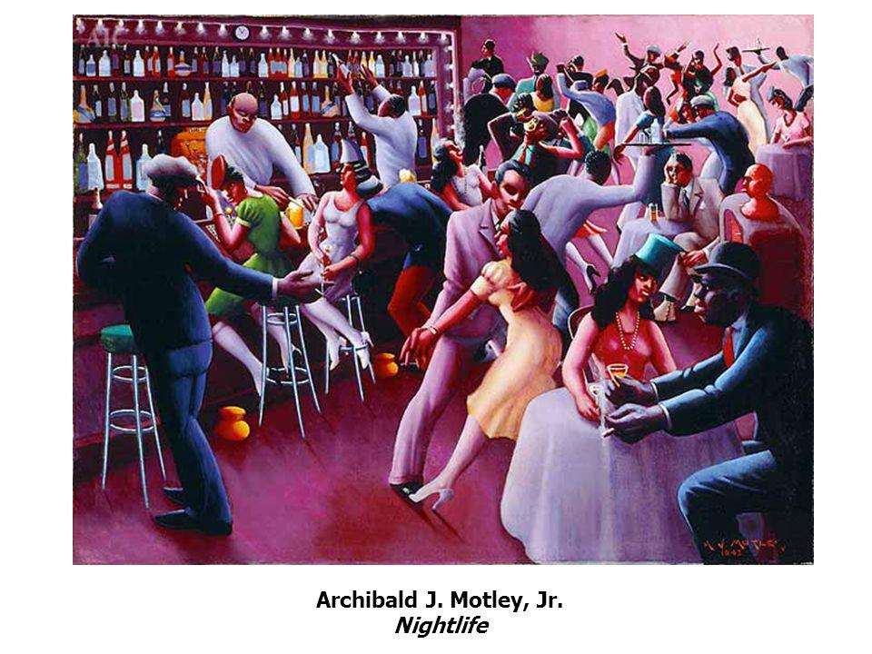 Archibald J. Motley, Jr. Nightlife