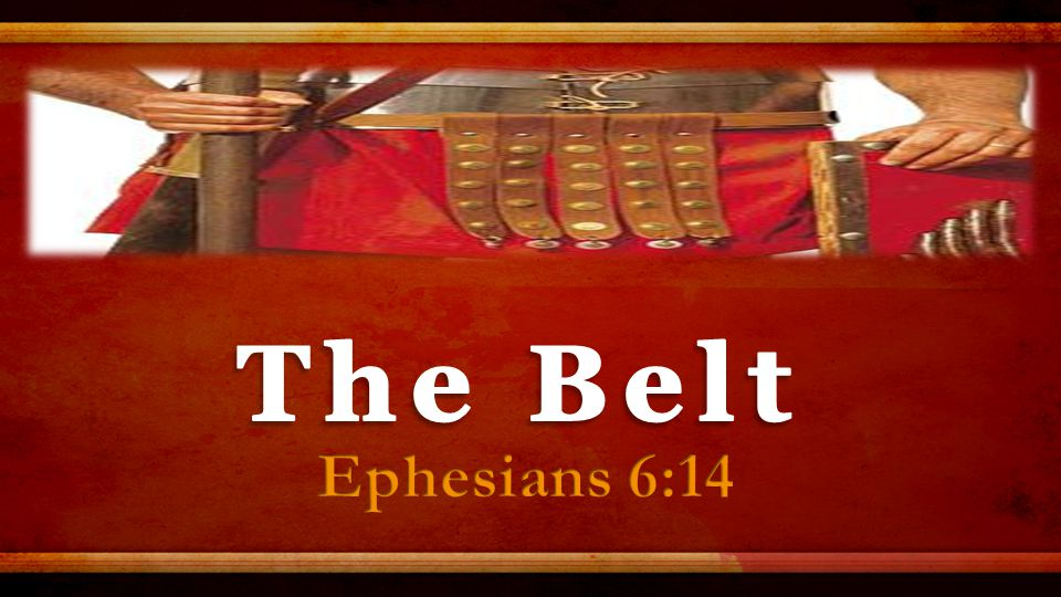 Your belt is insignificant—until you take it off.Your pants will fall to your knees.
