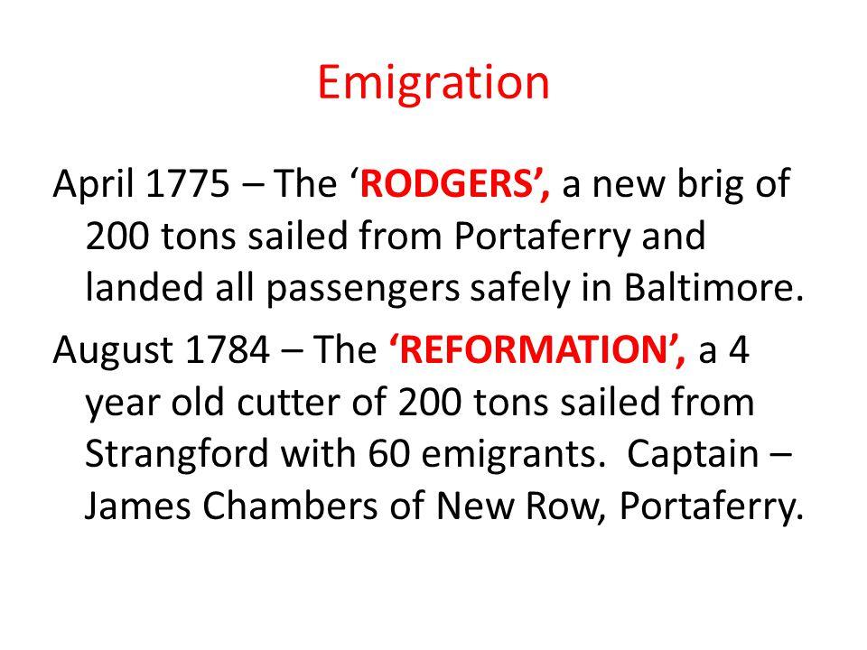 The Montreal Herald To Captain James Pollock, Brig Portaferry.