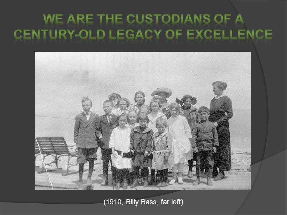 (1910, Billy Bass, far left)