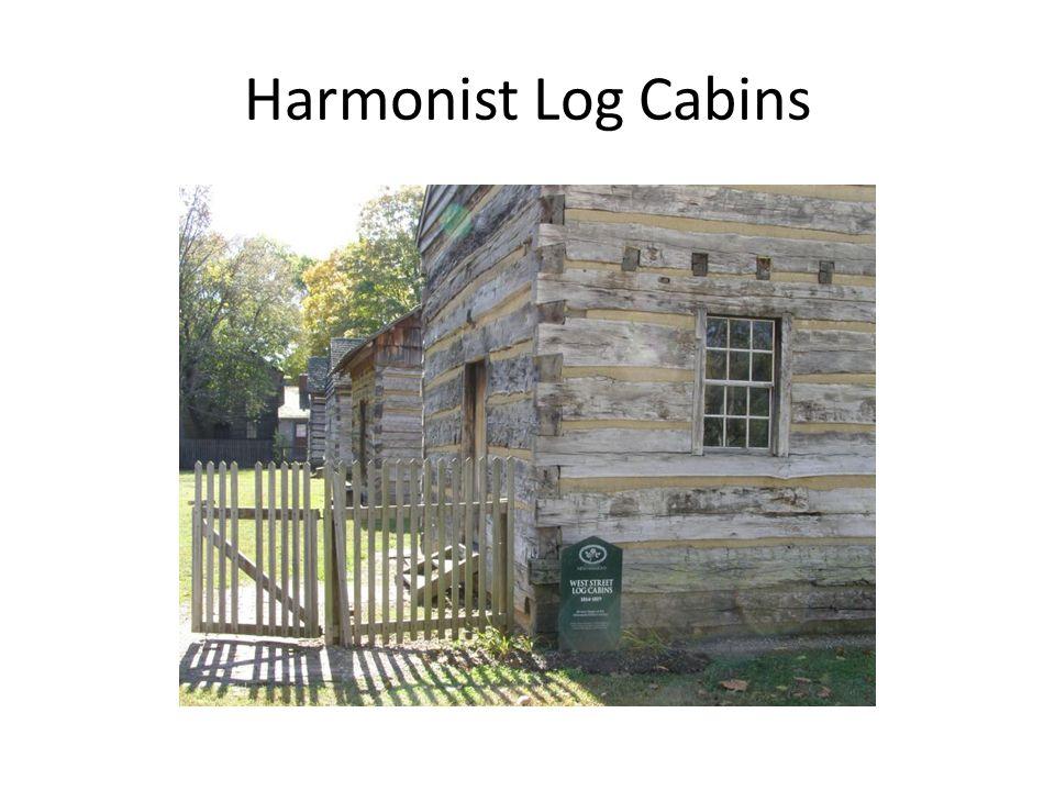 Harmonist Log Cabins