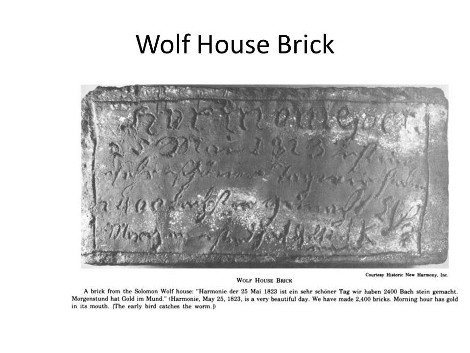 Wolf House Brick
