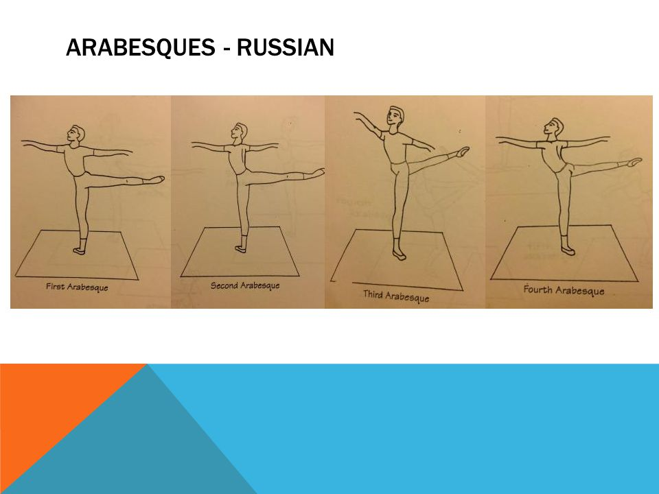 ARABESQUES - RUSSIAN