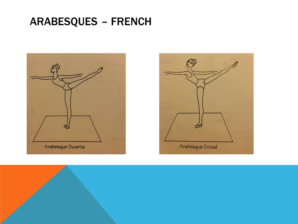 ARABESQUES – FRENCH