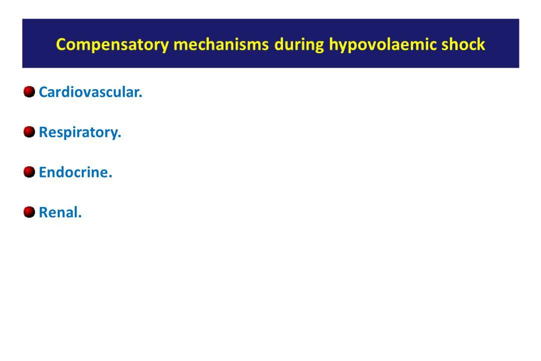 Cardiovascular. Respiratory. Endocrine. Renal.