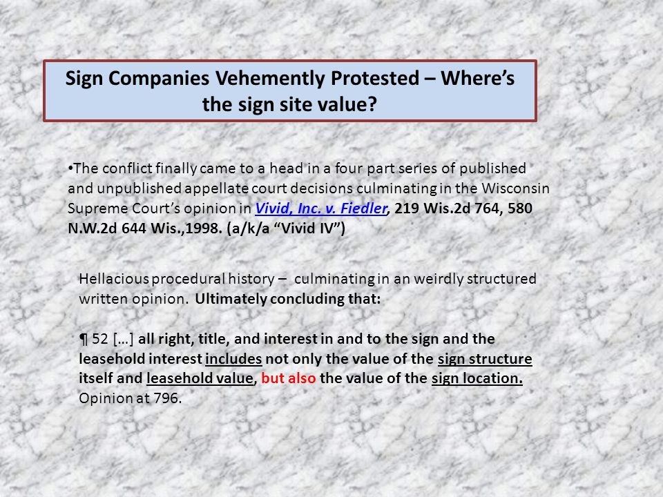Sign Companies Vehemently Protested – Where's the sign site value.