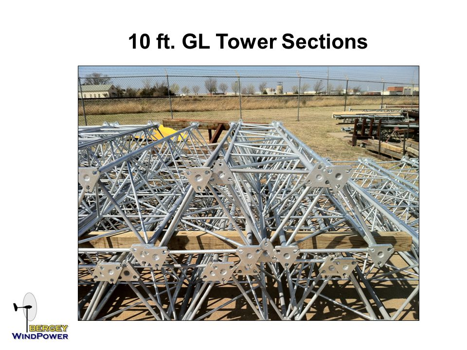 10 ft. GL Tower Sections